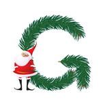 Felicitari de Craciun pentru femei: Litera G