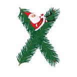 Felicitari de Craciun pentru femei: Litera X
