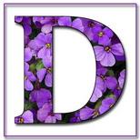Felicitari onomastica femei: Litera D