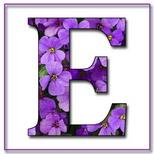 Felicitari onomastica femei: Litera E