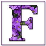 Felicitari onomastica femei: Litera F