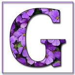 Felicitari onomastica femei: Litera G