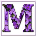Felicitari onomastica femei: Litera M