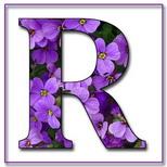 Felicitari onomastica femei: Litera R