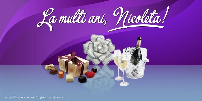 La multi ani, Nicoleta! - Felicitari onomastice de Sfantul Nicolae