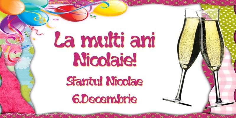 La multi ani, Nicolaie! Sfantul Nicolae - 6.Decembrie - Felicitari onomastice de Sfantul Nicolae