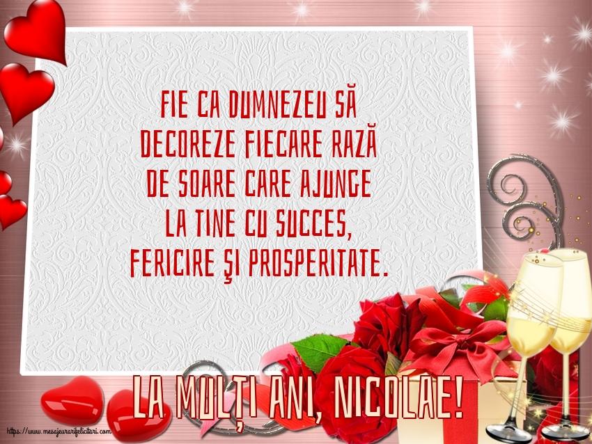 La mulți ani, Nicolae! - Felicitari onomastice de Sfantul Nicolae cu mesaje