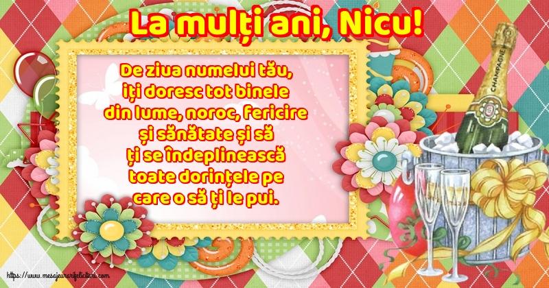 La mulți ani, Nicu! - Felicitari onomastice de Sfantul Nicolae cu mesaje