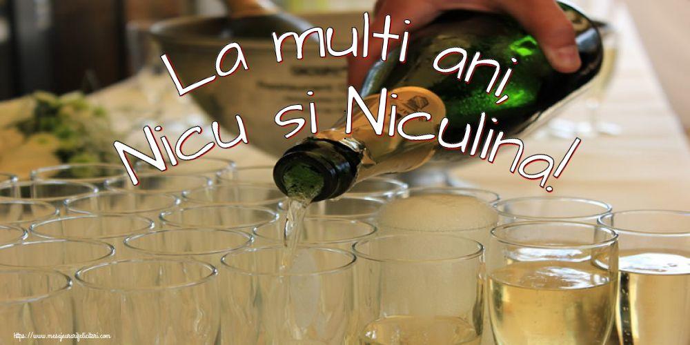 La multi ani, Nicu si Niculina! - Felicitari onomastice de Sfantul Nicolae cu sampanie