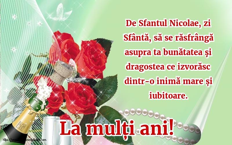 La mulți ani! - Felicitari onomastice de Sfantul Nicolae cu mesaje
