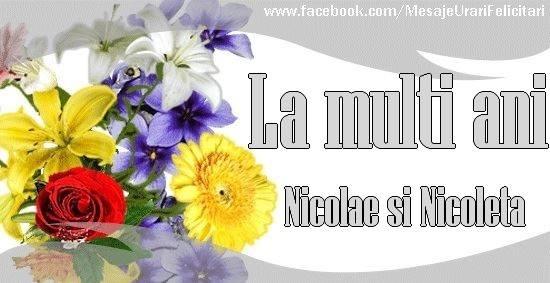 La multi ani Nicolae si Nicoleta - Felicitari onomastice de Sfantul Nicolae