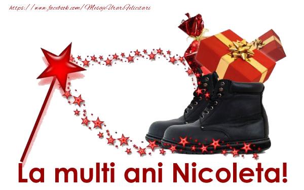 La multi ani Nicoleta! - Felicitari onomastice de Sfantul Nicolae