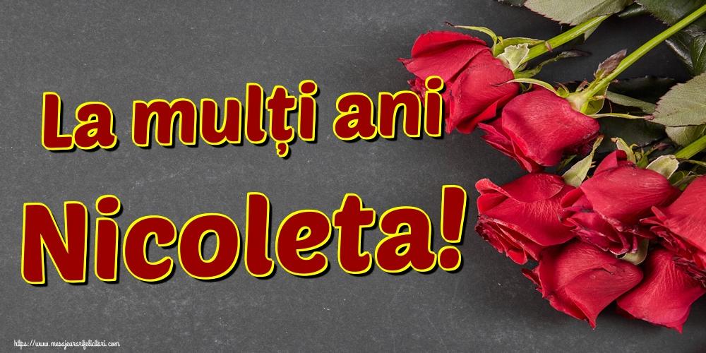 La mulți ani Nicoleta! - Felicitari onomastice de Sfantul Nicolae