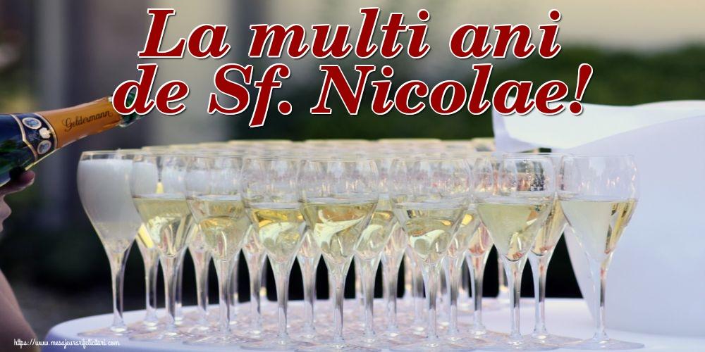 La multi ani de Sf. Nicolae! - Felicitari onomastice de Sfantul Nicolae cu sampanie