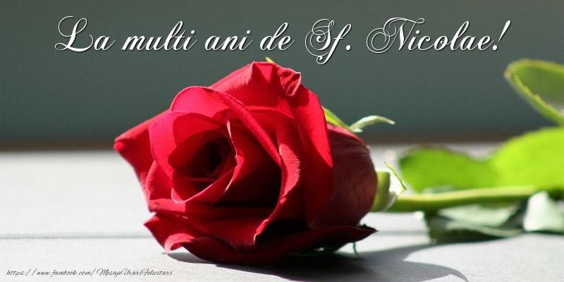 La multi ani de Sf. Nicolae! - Felicitari onomastice de Sfantul Nicolae