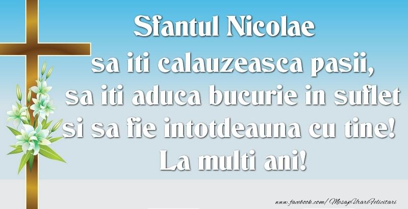 Sfantul Nicolae - Felicitari onomastice de Sfantul Nicolae