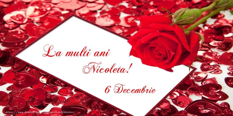 La multi ani Nicoleta! 6 Decembrie - Felicitari onomastice de Sfantul Nicolae