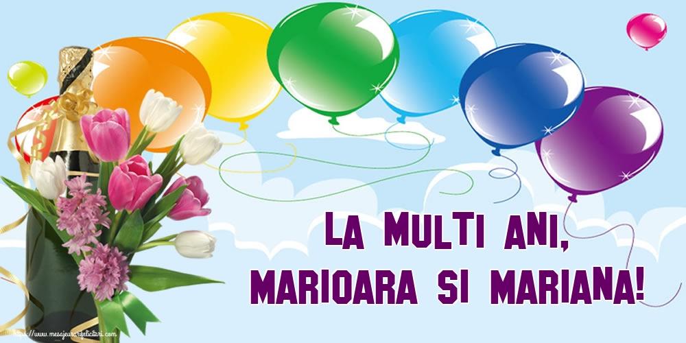 La multi ani, Marioara si Mariana! - Felicitari onomastice de Sfanta Maria Mica