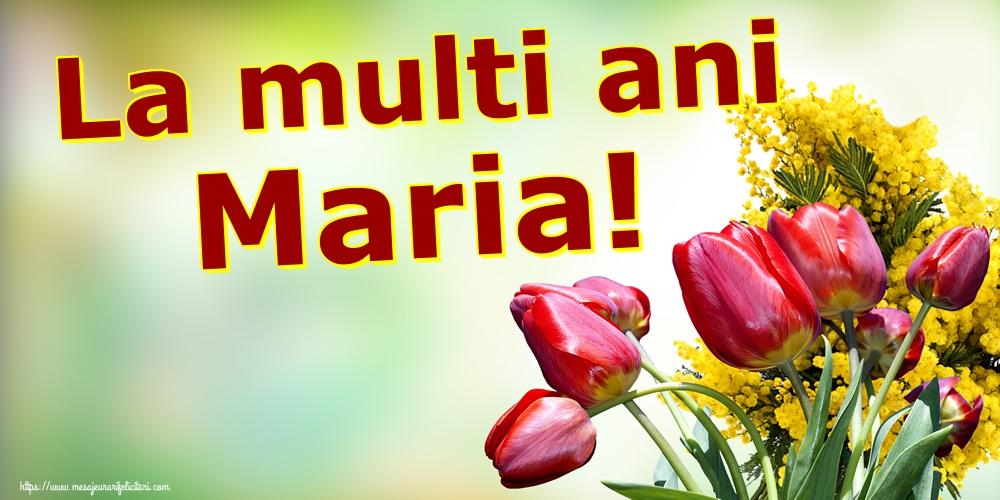 La multi ani Maria! - Felicitari onomastice de Sfanta Maria Mica
