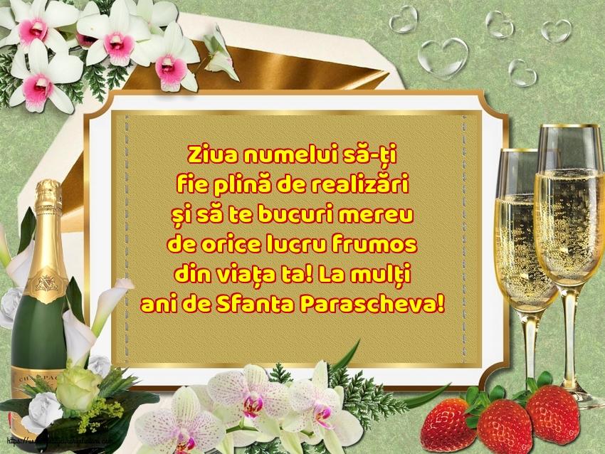 La mulți ani de Sfanta Parascheva! - Felicitari onomastice de Sfanta Parascheva cu mesaje