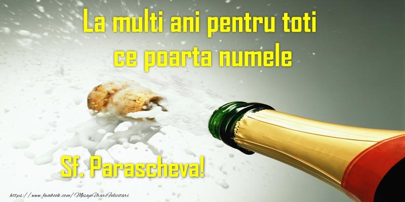 La multi ani pentru toti ce poarta numele Sf. Parascheva! - Felicitari onomastice de Sfanta Parascheva