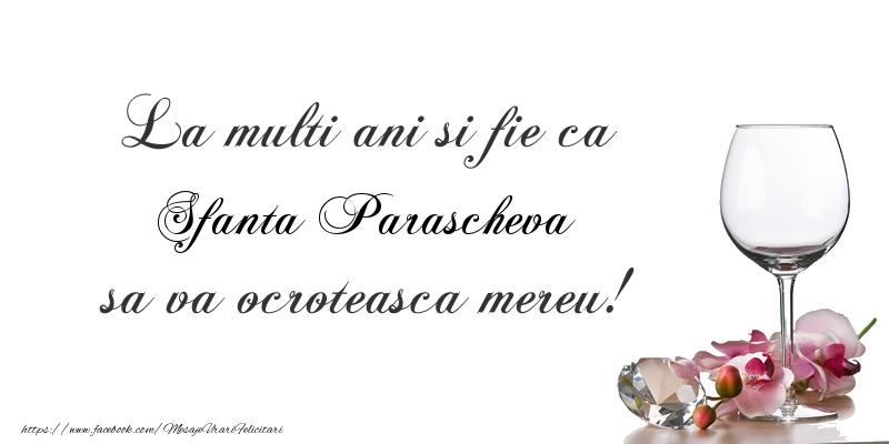 La multi ani si fie ca Sfanta Parascheva sa va ocroteasca mereu! - Felicitari onomastice de Sfanta Parascheva