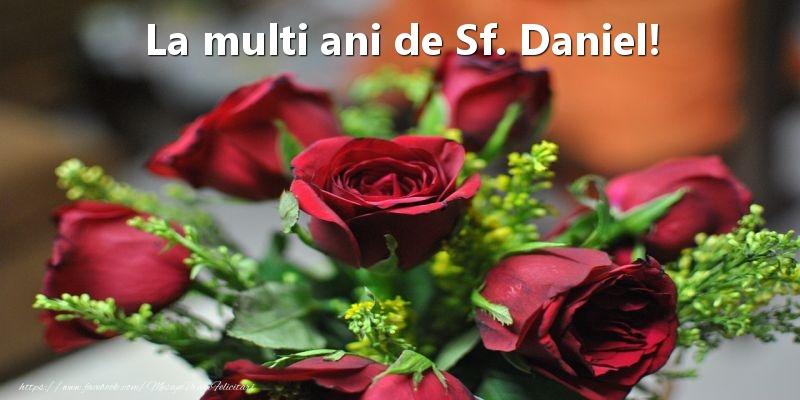 La multi ani de Sf. Daniel! - Felicitari onomastice de Sfantul Daniel