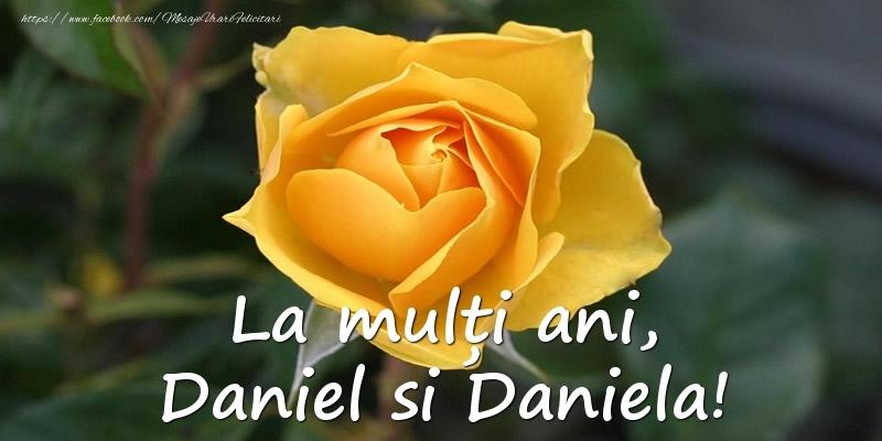 La multi ani, Daniel si Daniela! - Felicitari onomastice de Sfantul Daniel