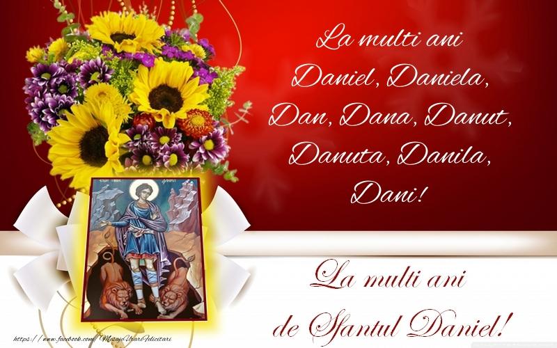 La multi ani de Sfantul Daniel! - Felicitari onomastice de Sfantul Daniel