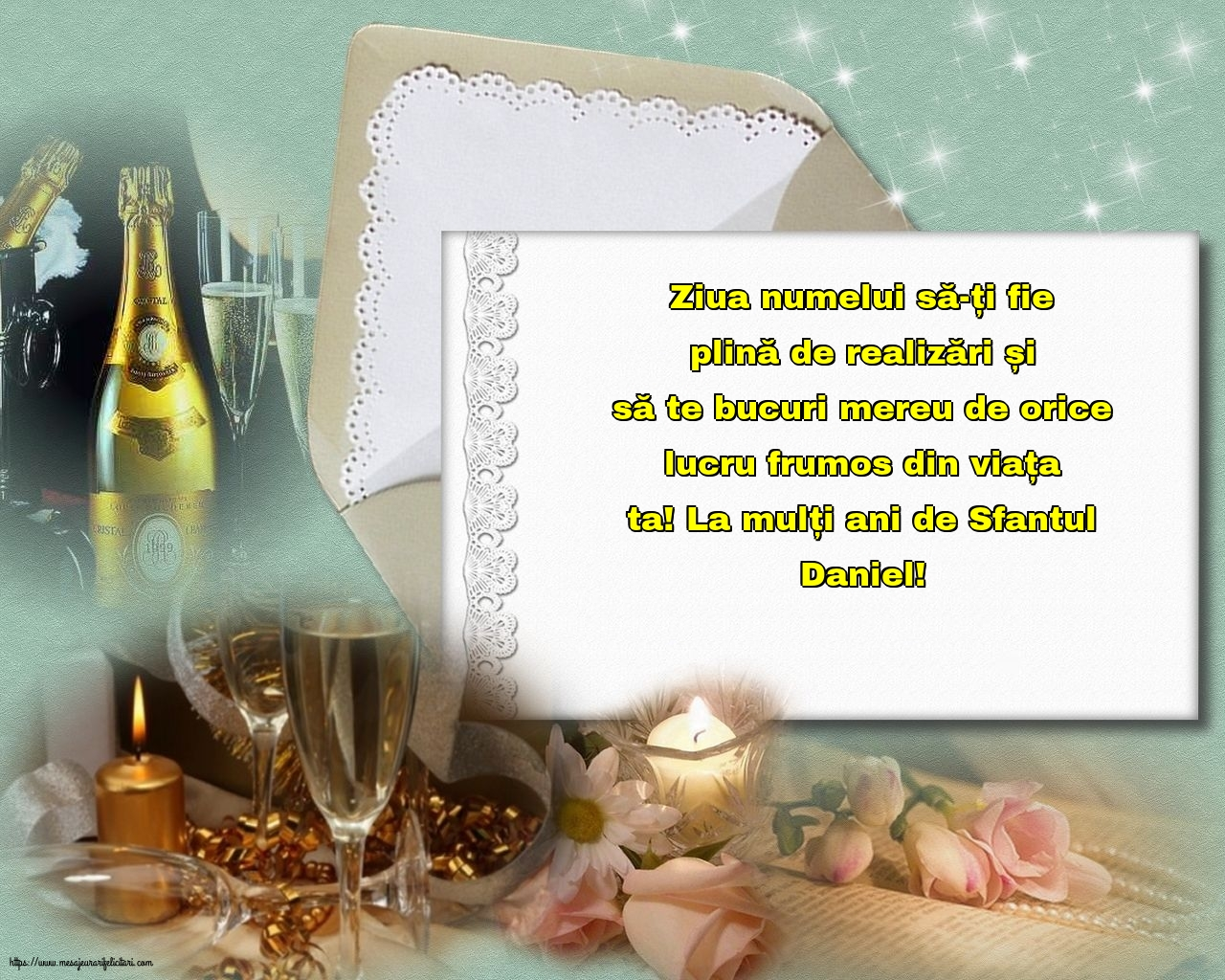 La mulți ani de Sfantul Daniel! - Felicitari onomastice de Sfantul Daniel cu mesaje