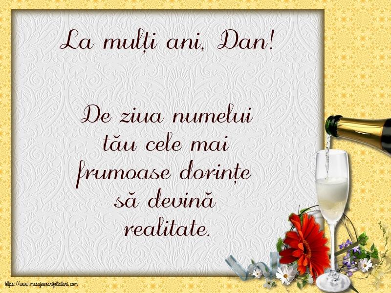 La mulți ani, Dan! - Felicitari onomastice de Sfantul Daniel cu mesaje