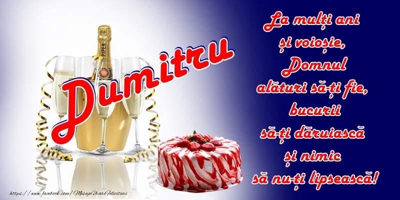 La multi ani Dumitru! - Felicitari onomastice de Sfantul Dumitru