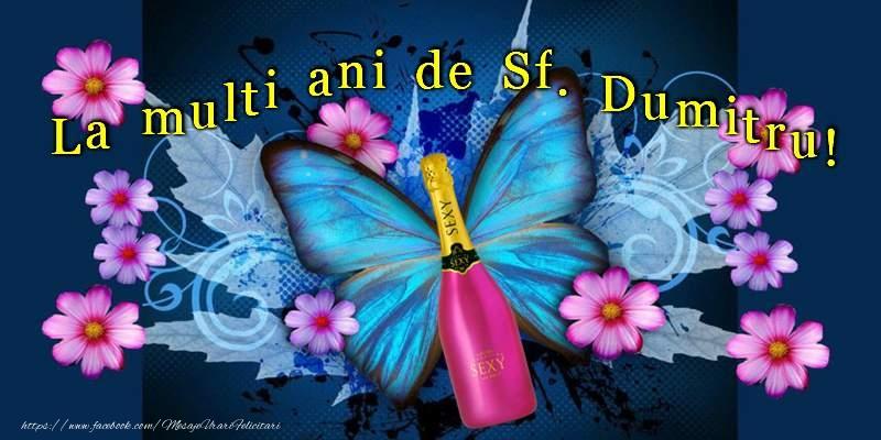 La multi ani de Sf. Dumitru! - Felicitari onomastice de Sfantul Dumitru
