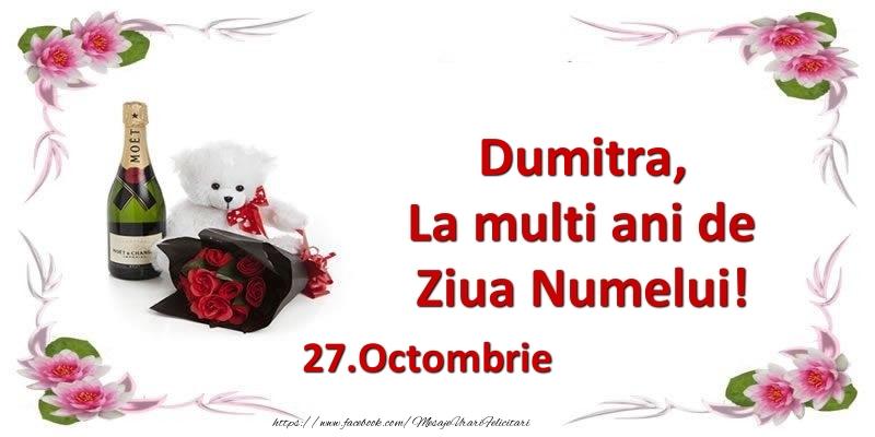 Dumitra, la multi ani de ziua numelui! 27.Octombrie - Felicitari onomastice de Sfantul Dumitru