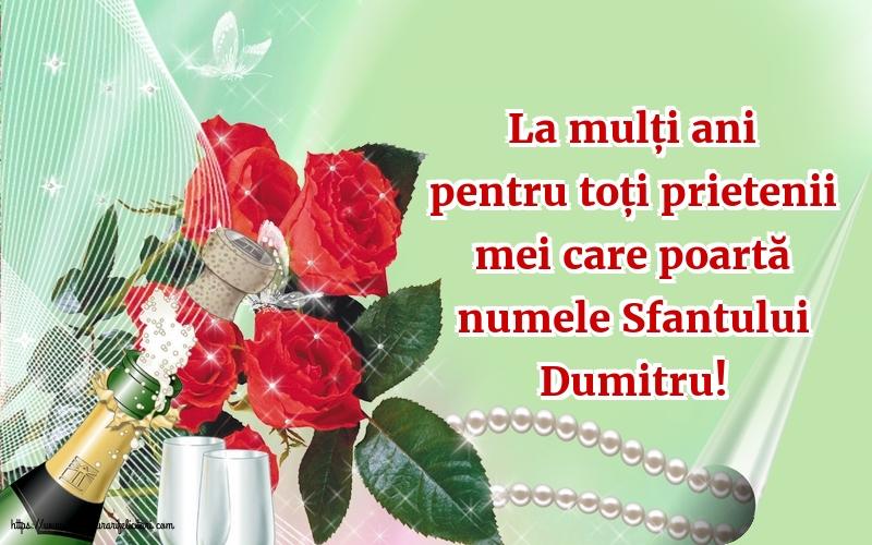 La mulți ani de Sfantul Dumitru! - Felicitari onomastice de Sfantul Dumitru cu mesaje