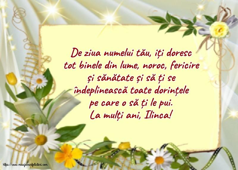 La mulți ani, Ilinca! - Felicitari onomastice de Sfantul Ilie cu mesaje