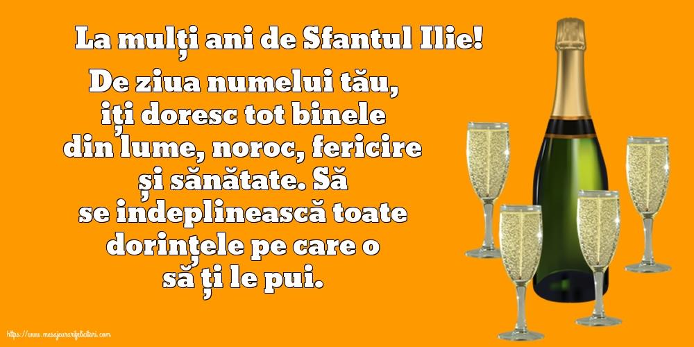 La mulți ani de Sfantul Ilie! - Felicitari onomastice de Sfantul Ilie cu mesaje
