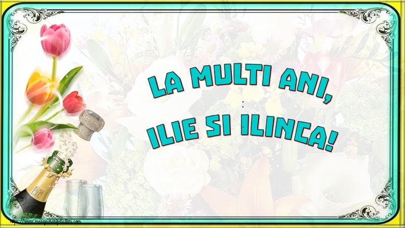 La multi ani, Ilie si Ilinca! - Felicitari onomastice de Sfantul Ilie cu sampanie