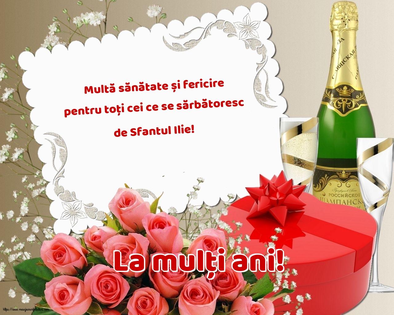 La mulți ani! - Felicitari onomastice de Sfantul Ilie cu mesaje