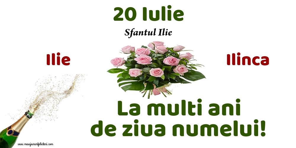 20 Iulie - Sfantul Ilie - Felicitari onomastice de Sfantul Ilie