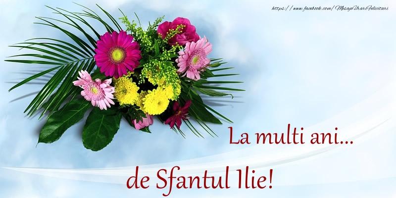 La multi ani... de Sfantul Ilie! - Felicitari onomastice de Sfantul Ilie