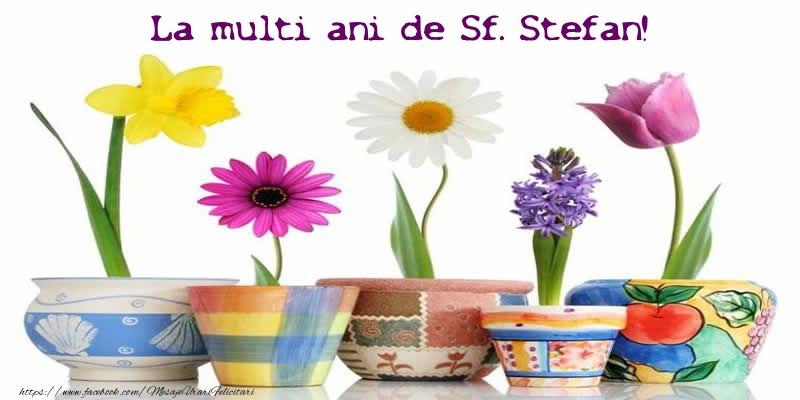 La multi ani de Sf. Stefan! - Felicitari onomastice de Sfantul Stefan