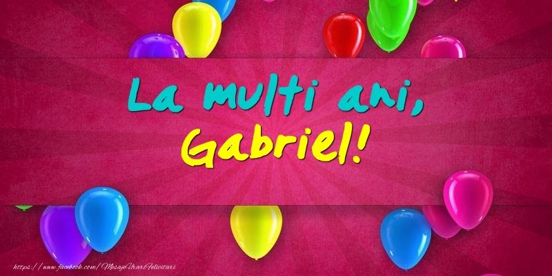 La multi ani, Gabriel! - Felicitari onomastice de Sfintii Mihail si Gavril