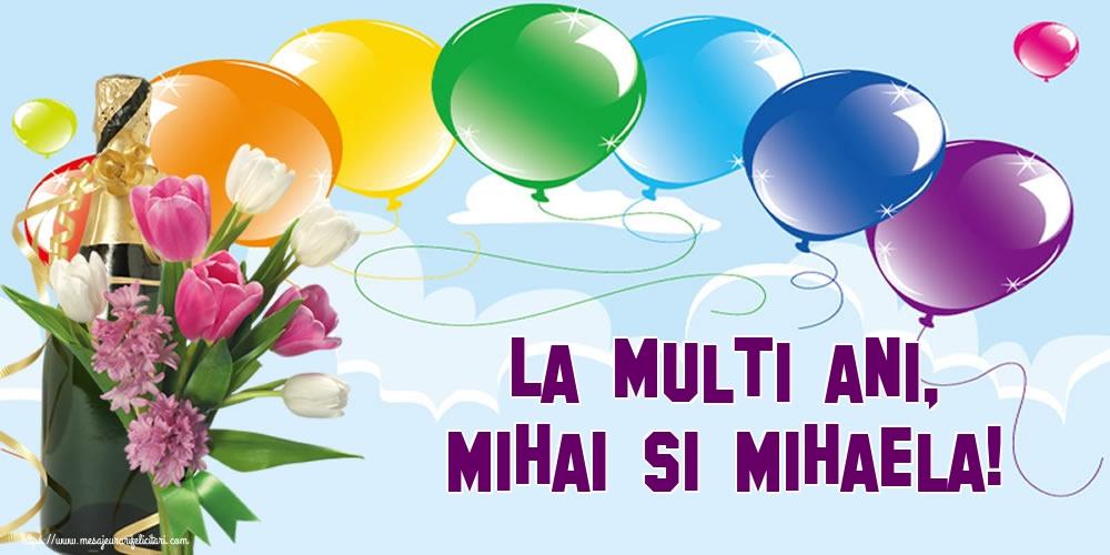 La multi ani, Mihai si Mihaela! - Felicitari onomastice de Sfintii Mihail si Gavril
