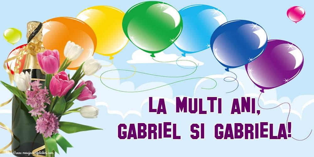 La multi ani, Gabriel si Gabriela! - Felicitari onomastice de Sfintii Mihail si Gavril