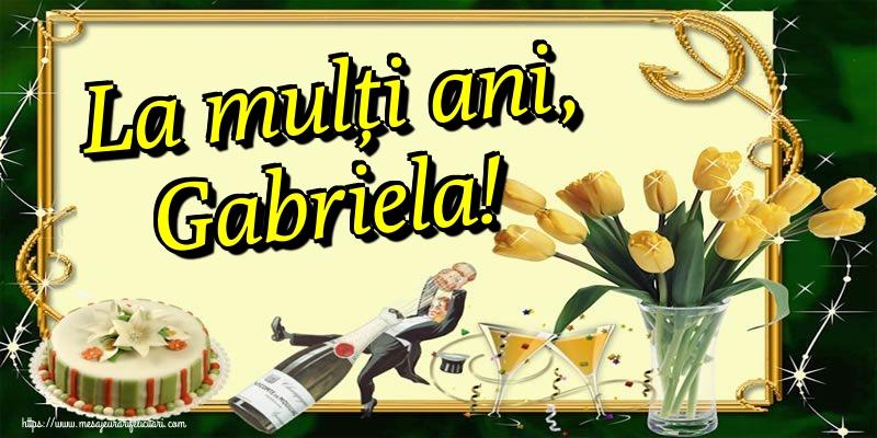 La mulți ani, Gabriela! - Felicitari onomastice de Sfintii Mihail si Gavril