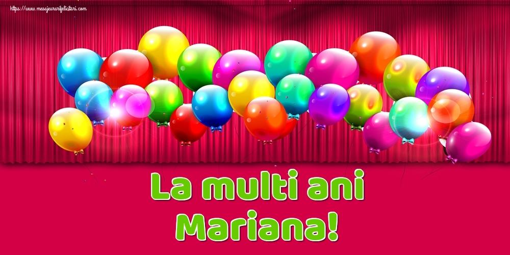 La multi ani Mariana! - Felicitari onomastice