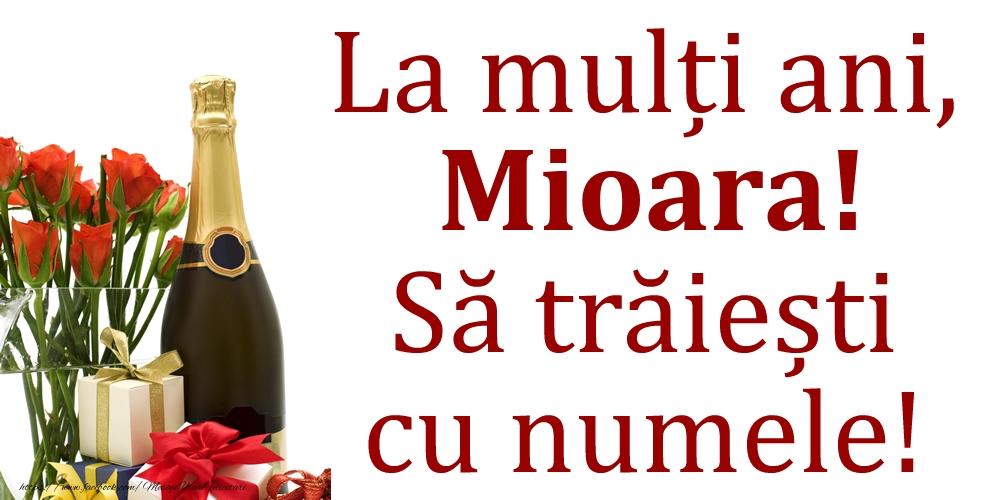 La mulți ani, Mioara! Să trăiești cu numele! - Felicitari onomastice