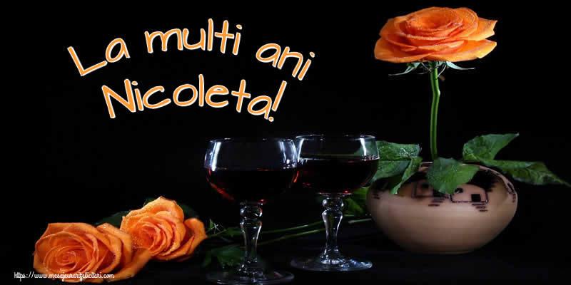 La multi ani Nicoleta! - Felicitari onomastice