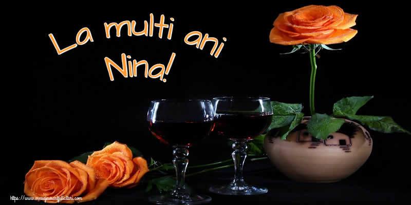 La multi ani Nina! - Felicitari onomastice